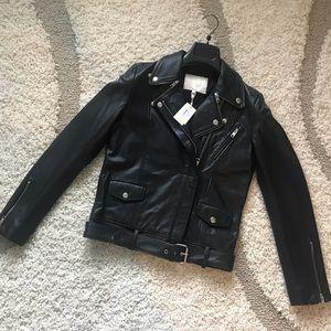 24eb78bd2 Women Maje Leather Jacket on Poshmark